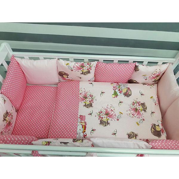 Комплект в кроватку 6 предметов By Twinz, Шанталь