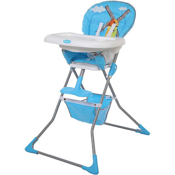 Стульчик для кормления Tea Time, Baby Care, синий