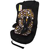 Автокресло BabyHit LOG'S SEAT 9-36 кг, черный с геометрическими фигурами