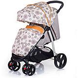 Прогулочная коляска BabyHit RACY, бежевый с кругами