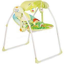 Электрокачели DEEP SLEEP, Babyhit, зеленый