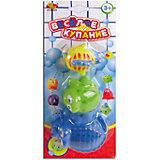 """Набор резиновых зверьков для ванной """"Веселое купание"""", 3 предм., ABtoys"""