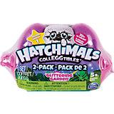 """Коллекционные фигурки Spin Master """"Hatchimals"""" в розовой коробке, 2 штуки"""