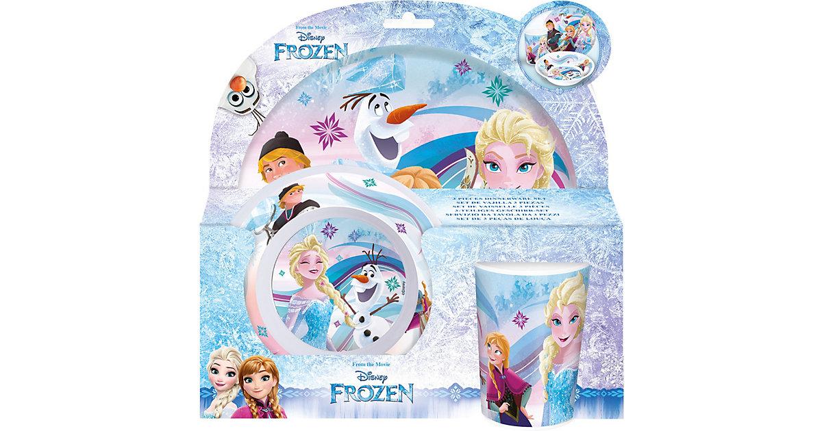 Kindergeschirr Melamin Disney Die Eiskönigin, 3-tlg.