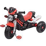 """Трехколлесный велосипед """"Мотоцикл"""", красный, 1toy"""