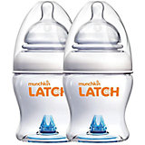 Бутылочка для кормления LATCH, 120 мл., 2 шт., Munchkin