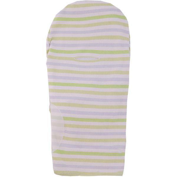 Конверт на липучке Swaddleme, размер S/M, Summer Infant, серо-зеленый,  полоски
