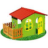 Домик с забором-садовый, Mochtoys