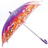 """Зонт-трость, детский, Zest, со светодиодами, рисунок """"Звездное небо"""""""