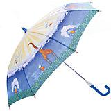 """Зонт-трость, детский, рисунок """"Жираф"""""""