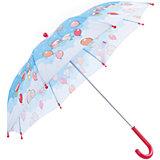 """Зонт-трость, детский, рисунок """"На воздушном шаре"""""""