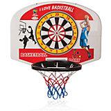 Баскетбольное кольцо с мячом + дартс, PILSAN