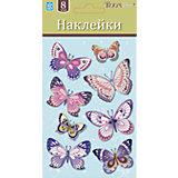 Бабочки мини LCHPA 05008, Room Decor, розовый