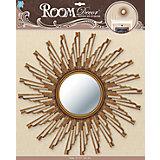 Декоративное зеркало большое № 2, Room Decor, золото