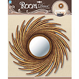 Декоративное зеркало большое № 3, Room Decor, золото