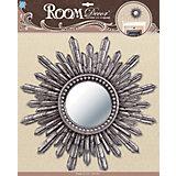 Декоративное зеркало большое № 4, Room Decor, серебро