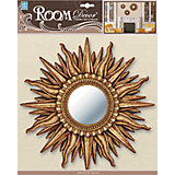 Декоративное зеркало среднее № 2, Room Decor, золото