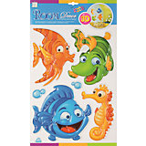 Наклейка Рыбки объемные POA1010, Room Decor