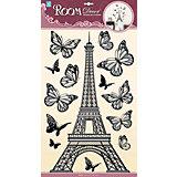 Наклейка Эйфелева башня объемная POA6875, Room Decor