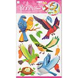 Наклейка Лесные птицы RCA0517, Room Decor