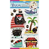 Наклейка Пиратские сокровища RCA3902, Room Decor