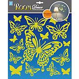 Наклейка Бабочки светящиеся RDA8302, Room Decor
