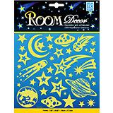 Наклейка Светящиеся планеты - мини PUA 1404, Room Decor