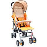 Коляска-трость Polo 107, Baby Care, светло-оранжевый