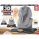 Скульптурный пазл Тутанхамон 3D, 160 деталей, Educa