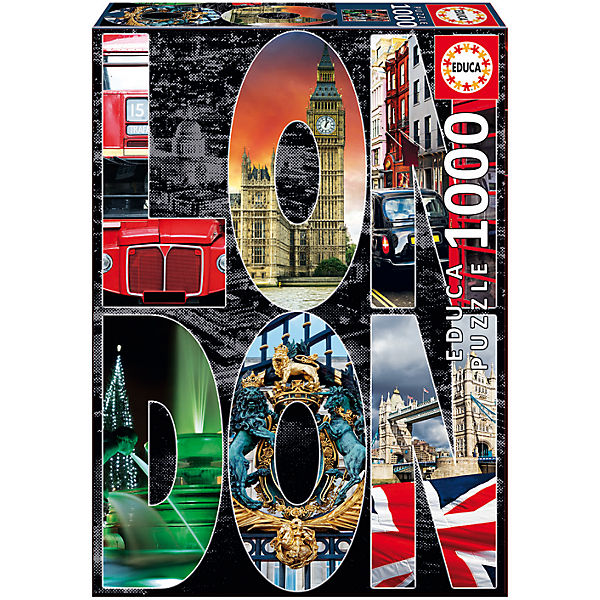 "Пазл ""Лондон, коллаж"", 1000 деталей, Educa"