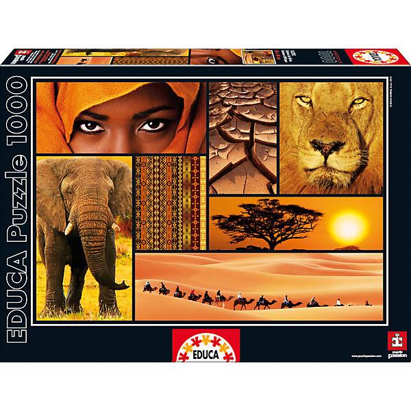 """Пазл """"Мир Африки"""", 1000 деталей, Educa"""