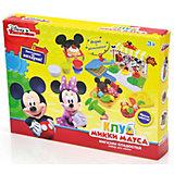 """Набор для лепки  Disney Клуб Микки Мауса """"3D галерея"""" (масса для лепки - 5 цв)"""