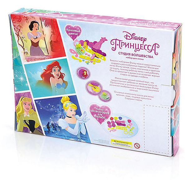 """Набор для лепки Disney Принцесса """"Студия волшебства"""" (масса для лепки - 5 цв., аксесс)"""