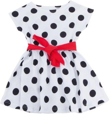 Платье для девочки Апрель - белый
