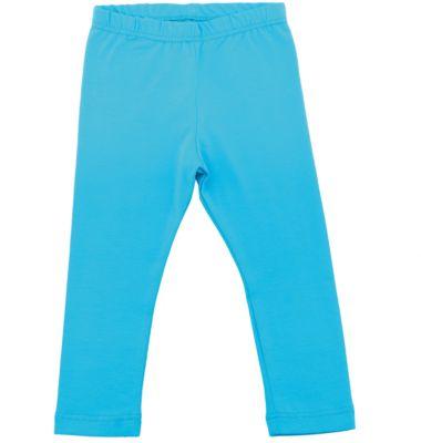 Леггинсы для девочки Апрель - голубой