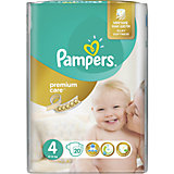Подгузники Pampers Premium Care, Maxi, 8-14 кг, 4 размер, 20 шт., Micro pack, Pampers