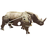 Конструктор – 3D пазл заводной: Носорог, UF