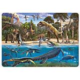 """Карта-пазл """"Динозавры"""", 260 деталей"""