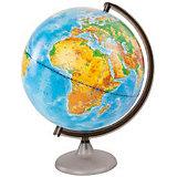 Глобус Земли физический, диаметр 320 мм