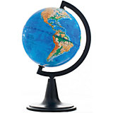 Глобус Земли физический, диаметр 120 мм