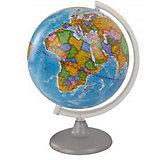 Глобус Земли политический, диаметр 250 мм