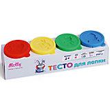 Тесто для лепки 4 цвета