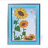 """Картины мозаикой """"Подсолнухи"""", 5 цветов"""