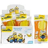 """Мыльные пузыри """"Эскимо желтое, на палочке, в цветной обертке, банан"""", 45мл., Minions, 1Toy"""