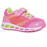 Кроссовки для девочки Котофей, розовый