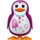 Поющий пингвин с кольцом, розовый, принт мороженое,  DigiBirds