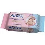 Влажные салфетки для детей, 100шт., Aura Ultra Comfort