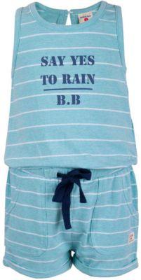 Полукомбинезон для девочки BUTTON BLUE - зеленый