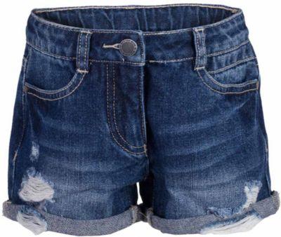 Шорты джинсовые для девочки BUTTON BLUE - синий