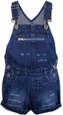 Полукомбинезон джинсовый BUTTON BLUE - синий